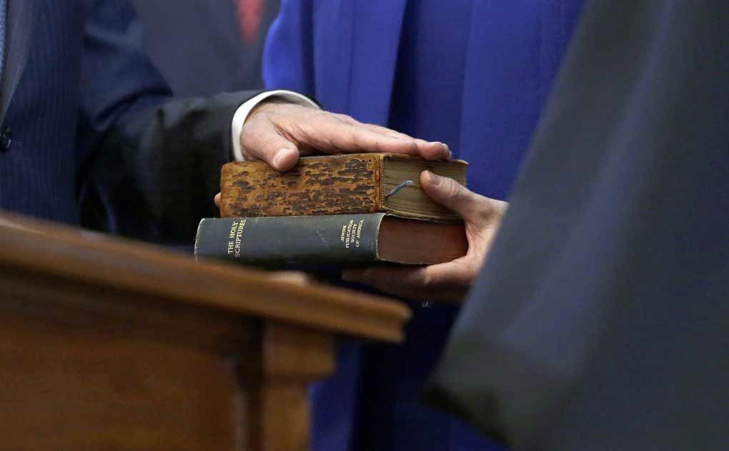 Doubt surrounds beloved Sam Houston Bible used for swearing-in state leaders
