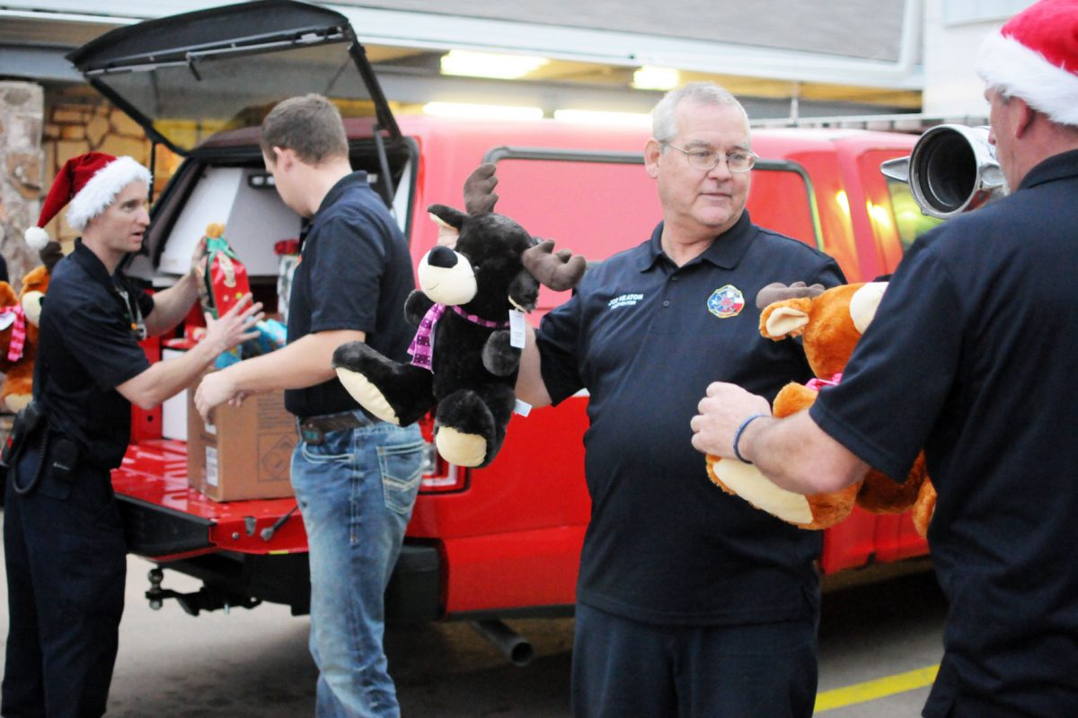 HFD toy drive making spirits bright